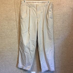 CK Pleated Front Khakis